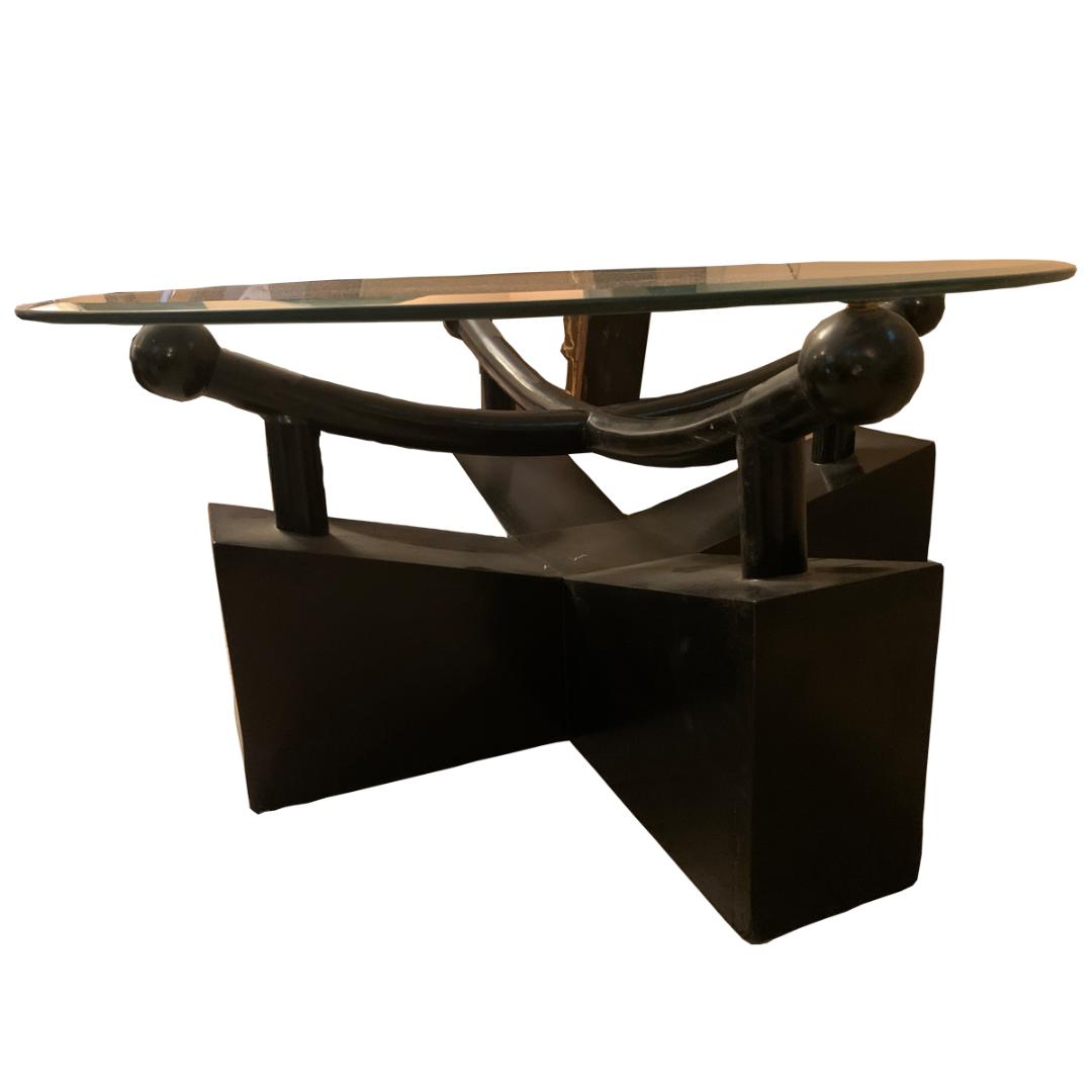 Remarkable Modern Coffee Table And Side Tables In Black Short Links Chair Design For Home Short Linksinfo