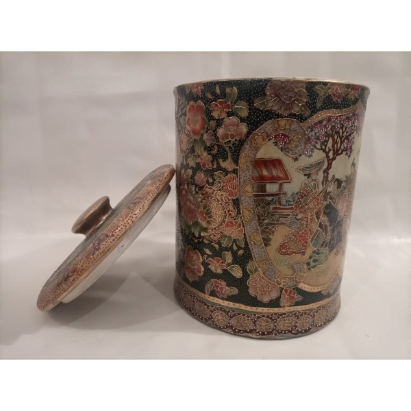 Chinese Decorative Jar with Lid - SoUnique.PK