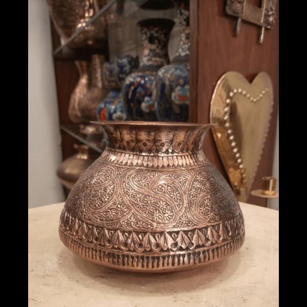 Kashmiri Copper Pot - SoUnique.PK