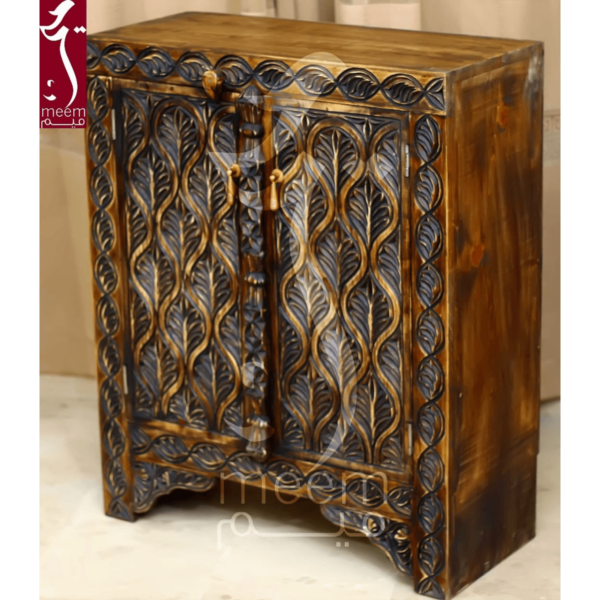 Hand Carved Swati Cabinet- SoUnique.PK