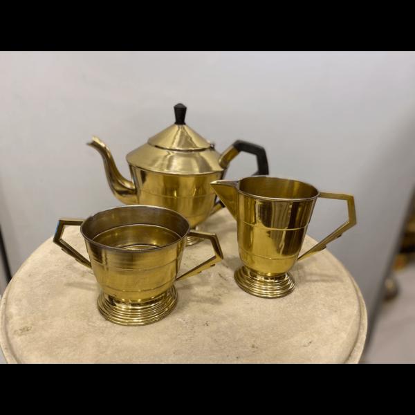 Brass Tea Set- SoUnique.PK