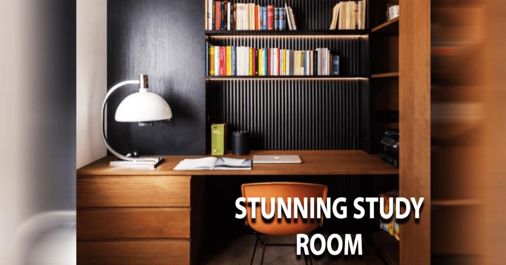 STUNNING STUDY ROOM