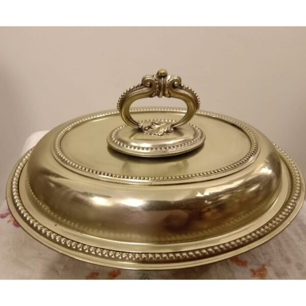English Serving Dish with Lid - SoUnique.PK