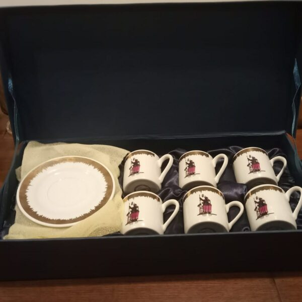 Set of 6 Coffee Cups-Sounique.PK