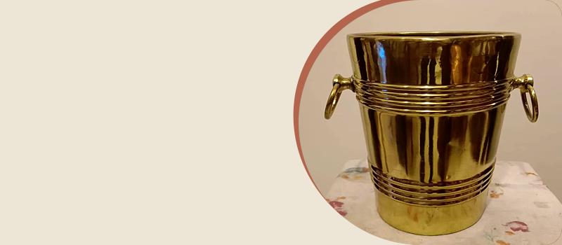 Classic Brass Ice Bucket