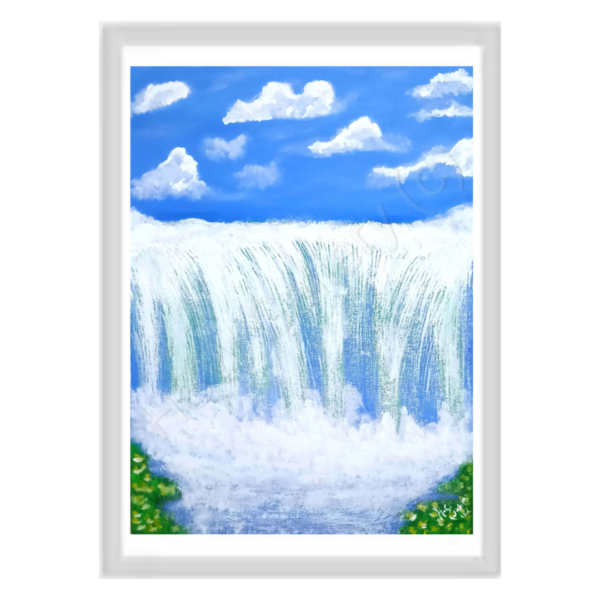 The Nature Series - The Blissful Roar of Water-SoUnique.PK