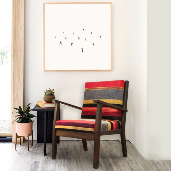 Contemporary Arm Chair-SoUnique.PK